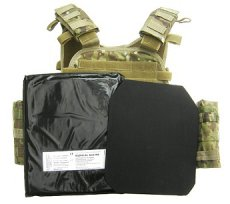 Survival Multicam Plate Carrier Operator NIJ4 Conjuction NIJ-3A 250x300mm