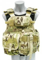 Survival Multicam Plate Carrier Operator NIJ4 Stand Alone Digi-EMT-Ammo Pouch